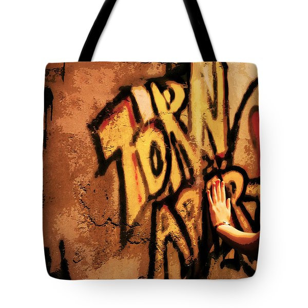 Tear This Wall Down Tote Bag
