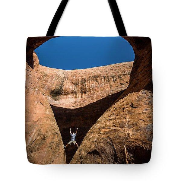 Teardrop Arch Tote Bag