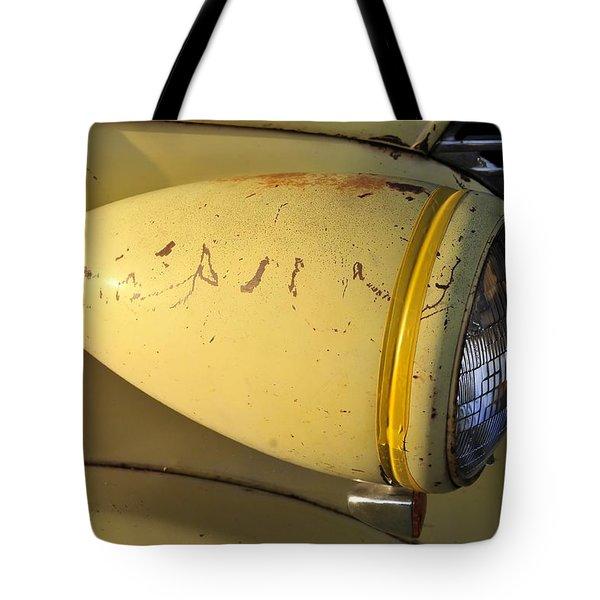 Teardrop Headlight Tote Bag by David Lee Thompson