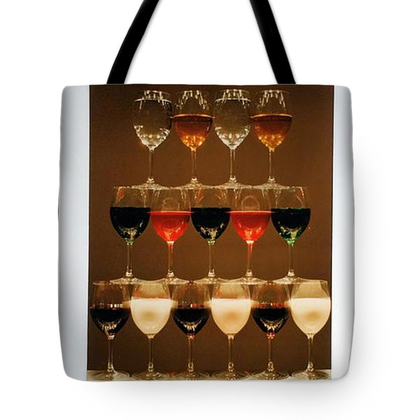 Tears And Wine Tote Bag
