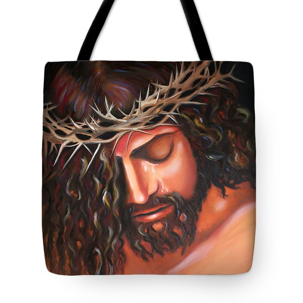 Tears From The Crown Of Thorns Tote Bag