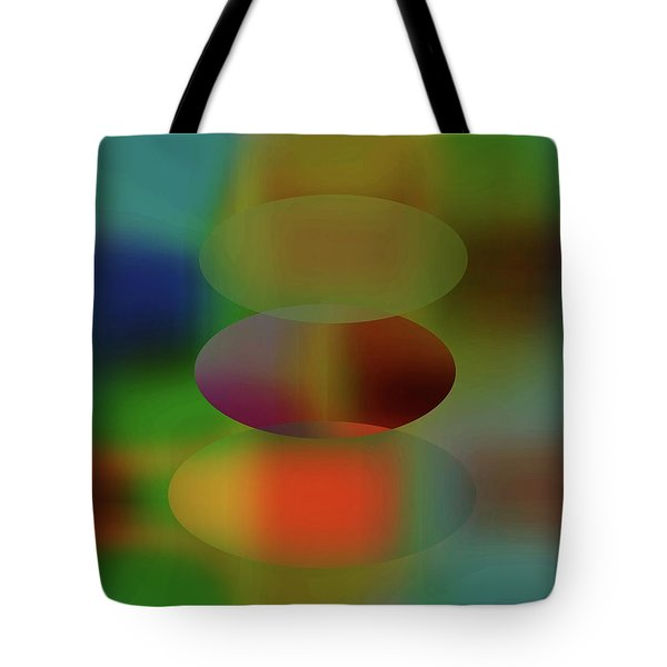 Tears Of A Clown  Tote Bag by Danica Radman