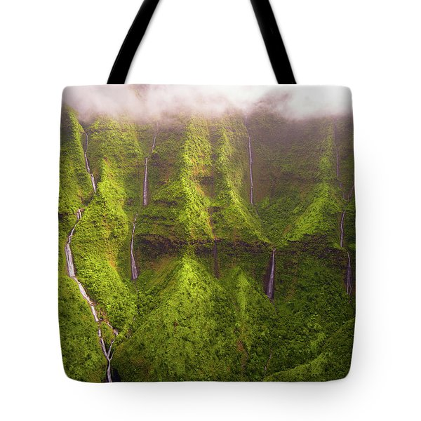 Tears Of Waialeale Tote Bag