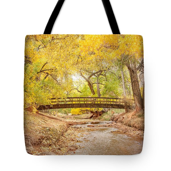 Teasdale Bridge Tote Bag