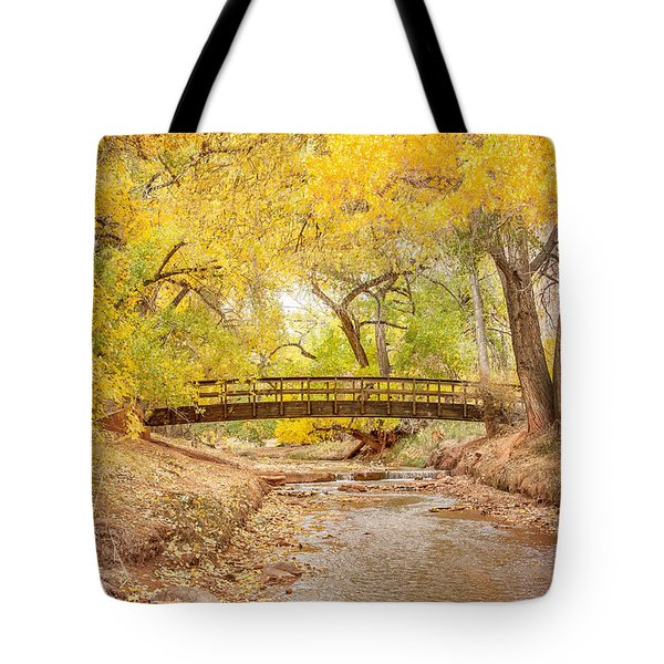 Teasdale Bridge Tote Bag
