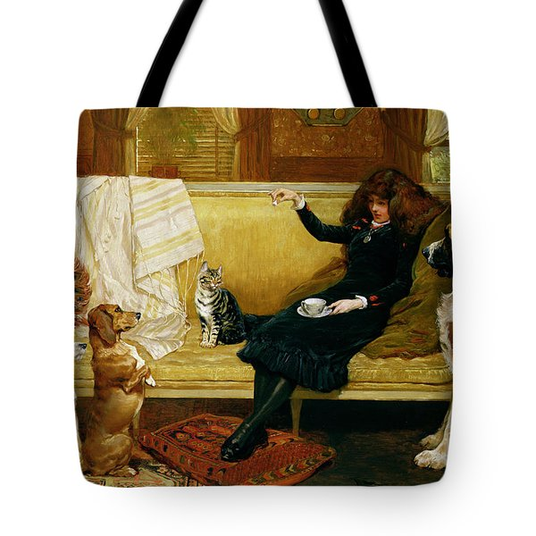 Teatime Treat Tote Bag by John Charlton