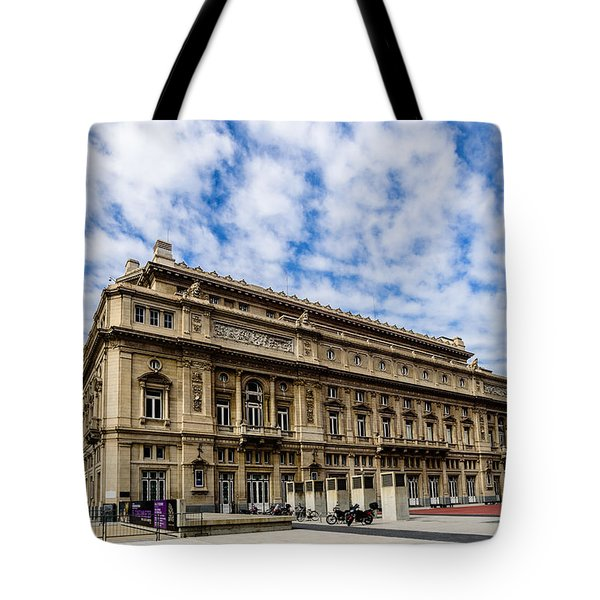 Teatro Colon Tote Bag by Randy Scherkenbach