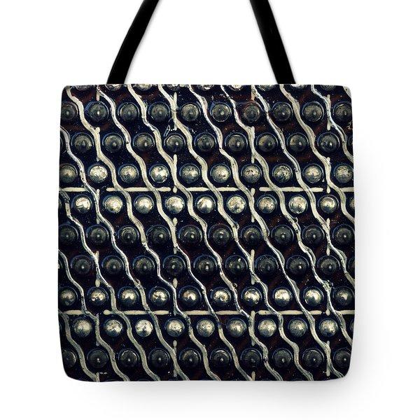 Tech Texture Tote Bag by Joseph Skompski