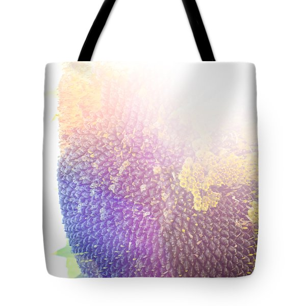 Tote Bag featuring the photograph Technicolor Sunflower by Christi Kraft