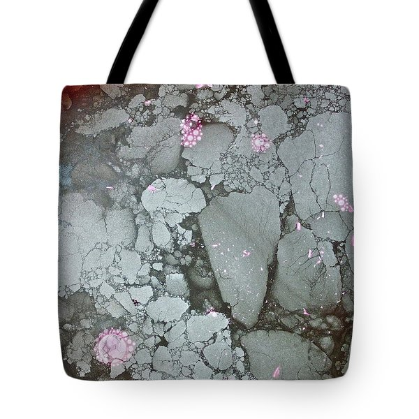 Tote Bag featuring the photograph Tectonic With Sky Above And Below by Cliff Spohn