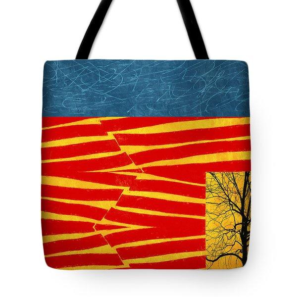 Tectonics Tote Bag