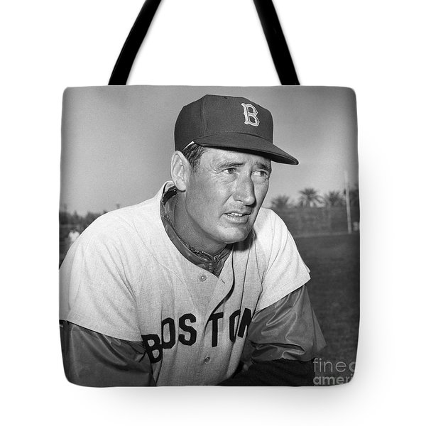 Ted Williams (1918-2002) Tote Bag by Granger