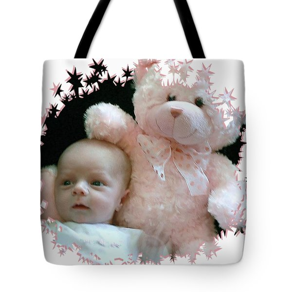 Teddy And Me Tote Bag