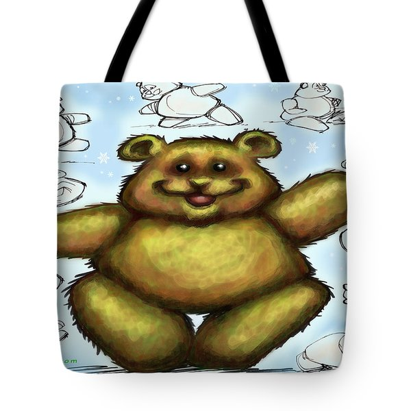 Teddy Bear Tote Bag by Kevin Middleton