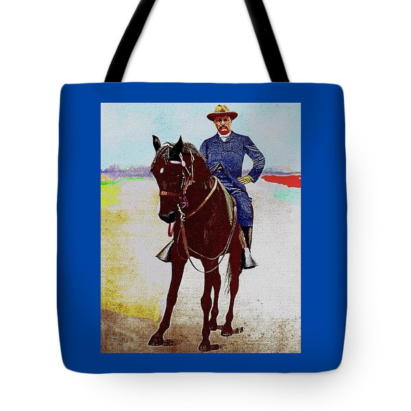 Teddy R Tote Bag