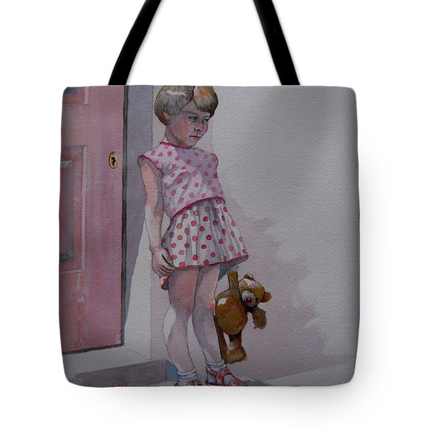 Teddy Tote Bag by Ray Agius