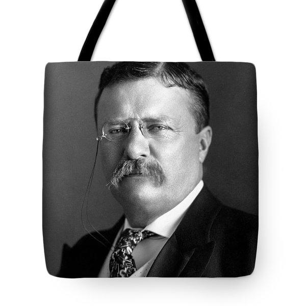 Teddy Roosevelt Portrait - 1904 Tote Bag