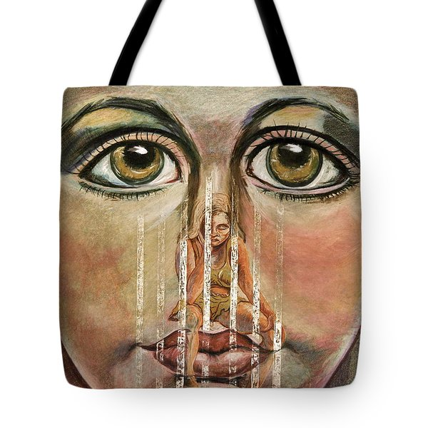 Teen Depression Tote Bag