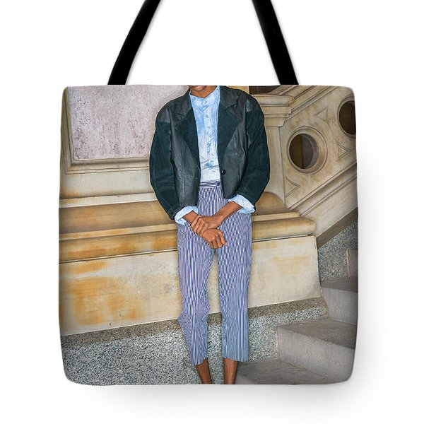 Teenage Boy Fashion 1504267 Tote Bag