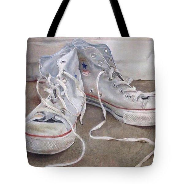 Teenage Kicks Tote Bag