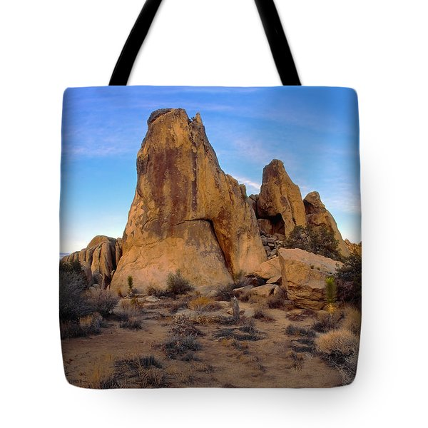 Teepee Rock Tote Bag