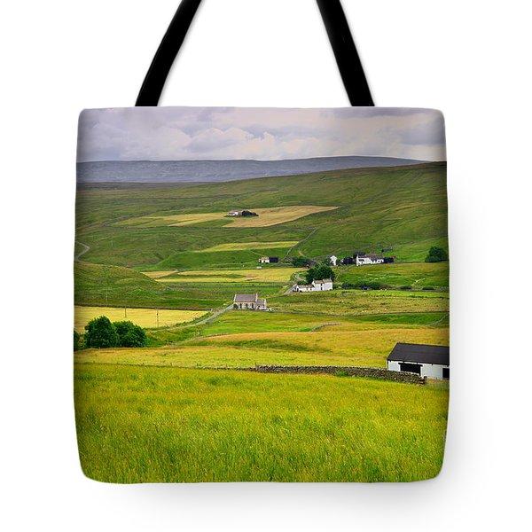 Teesdale Landscape Tote Bag