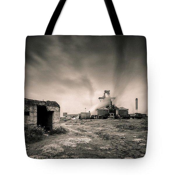Teesside Steelworks 2 Tote Bag