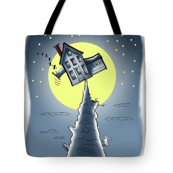 Teeter House Tote Bag