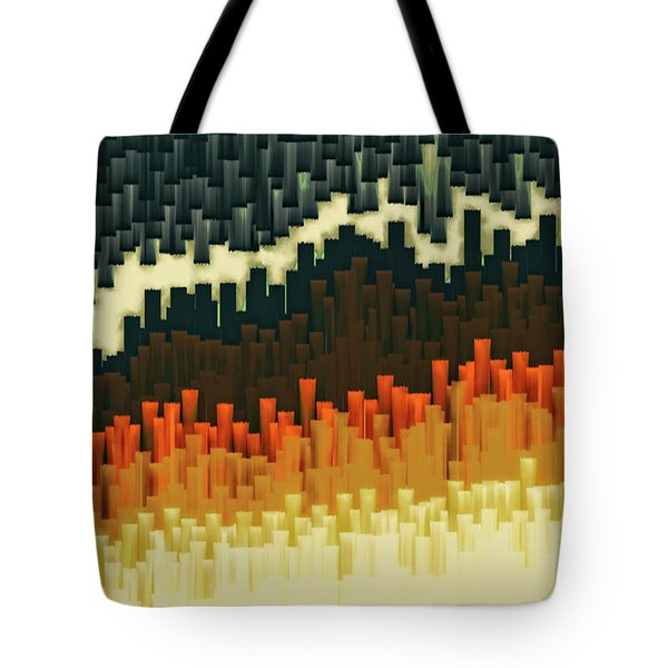 Teeth 030517 Tote Bag by Matt Lindley