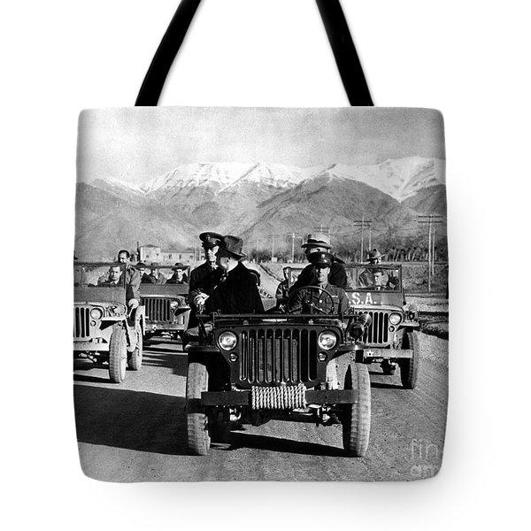 Tehran Conference, 1943 Tote Bag by Granger