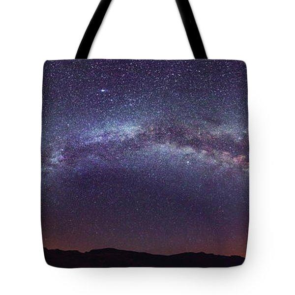 Teide Milky Way Tote Bag