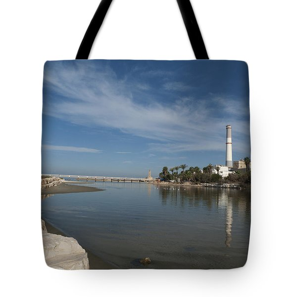 Tote Bag featuring the photograph Tel Aviv Old Port 1 by Dubi Roman