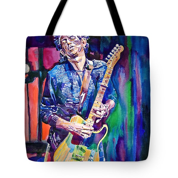 Telecaster- Keith Richards Tote Bag