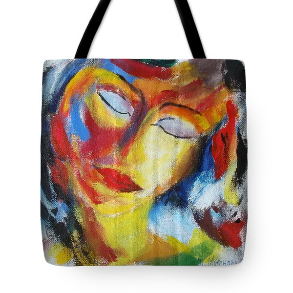 Tell Me - I Listen You Tote Bag