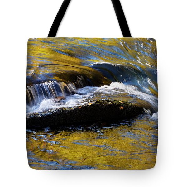 Tote Bag featuring the photograph Tellico River - D010004 by Daniel Dempster