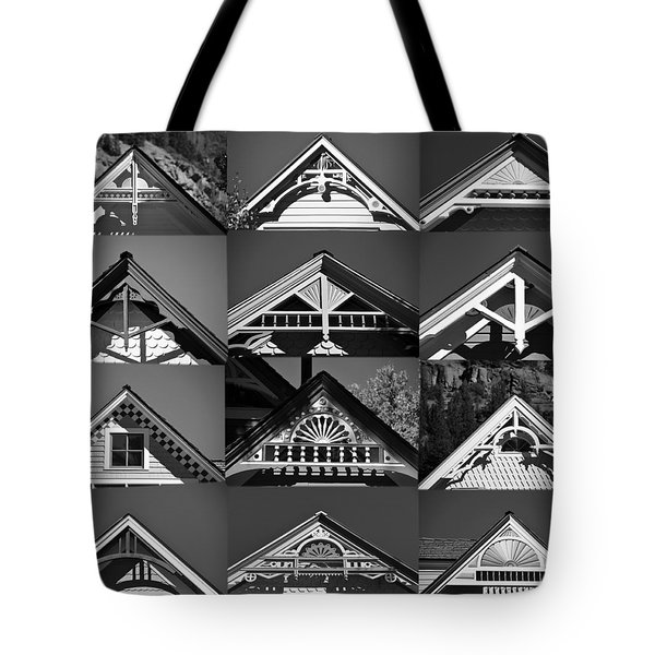 Tote Bag featuring the photograph Telluride Classics by David Lee Thompson