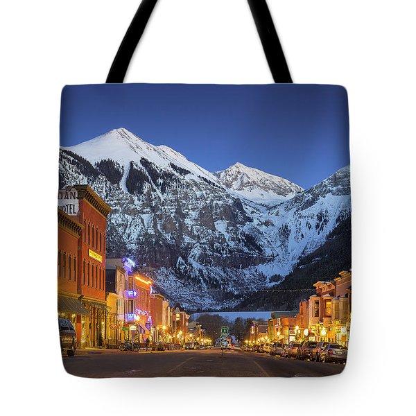 Telluride Main Street 3 Tote Bag