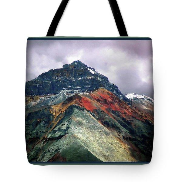 Telluride Mountain Tote Bag