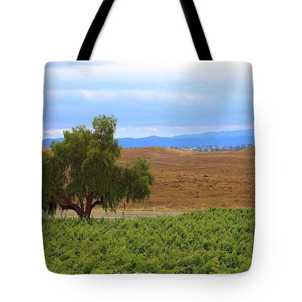 Tote Bag featuring the photograph Temecula Lonely Tree by Viktor Savchenko