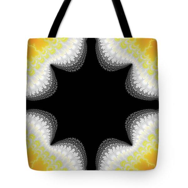 Fractal 7 Center 2x3 Tote Bag