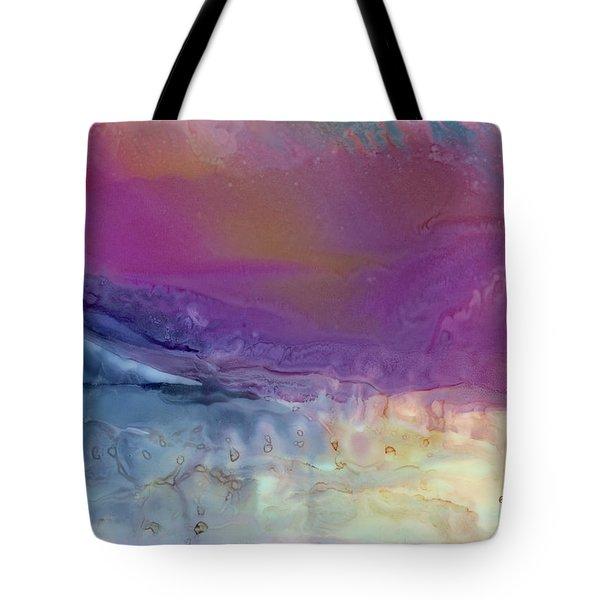 Temperamental Twilight Tote Bag