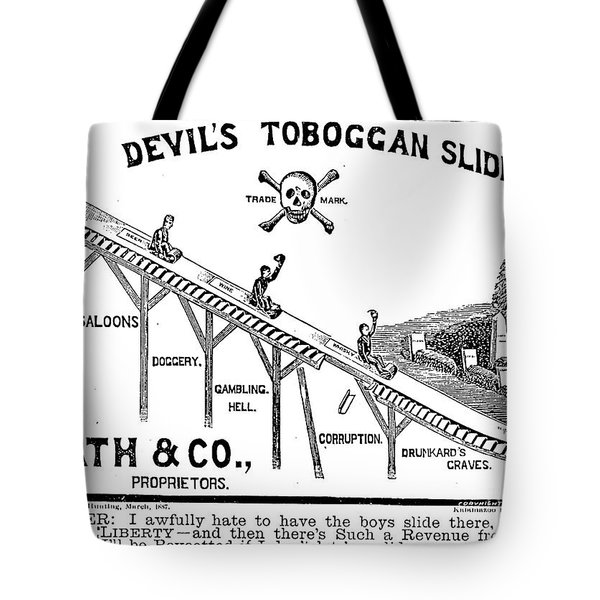 Temperance Movement 1887 Tote Bag
