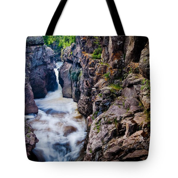 Temperance River Gorge Tote Bag