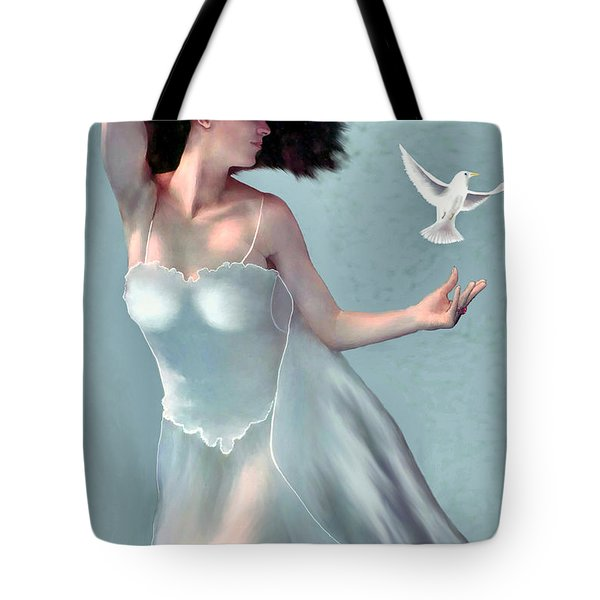 Tempest - Goddess Of The Wind Tote Bag