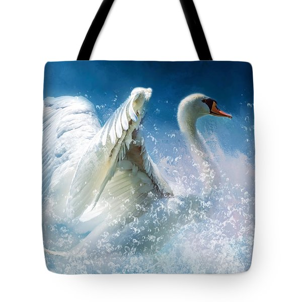 Tempestuous Beauty Tote Bag