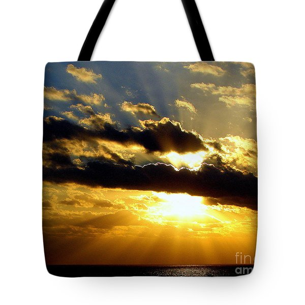 Tempestuous Tote Bag by Priscilla Richardson