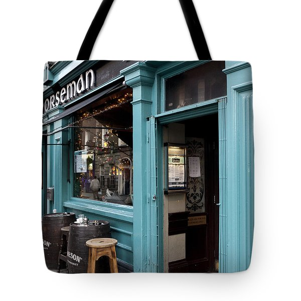 Temple Bar Area Pub Tote Bag by Rae Tucker
