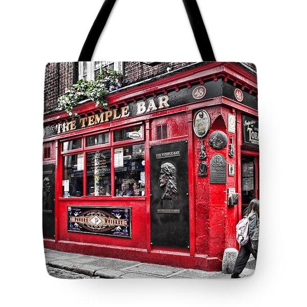 Temple Bar Pub Tote Bag
