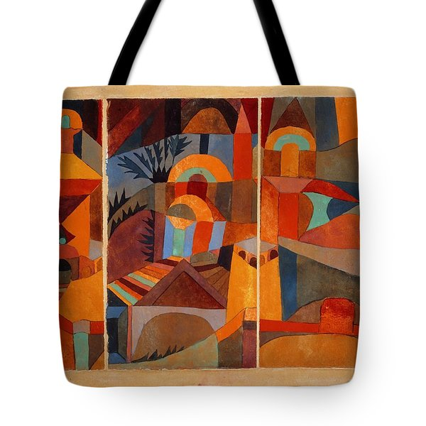 Temple Gardens Tote Bag