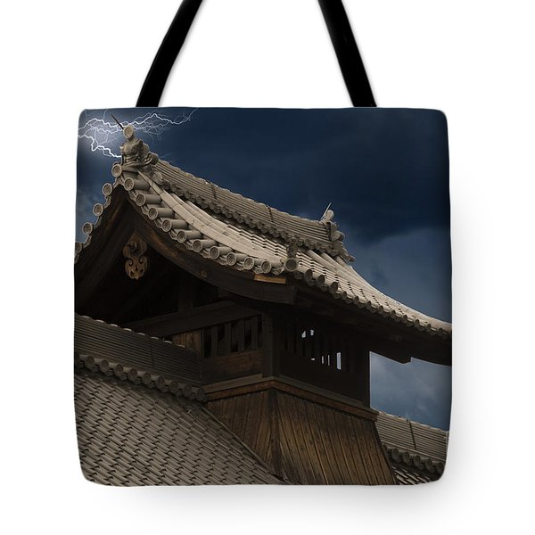 Temple In The Sky Tote Bag